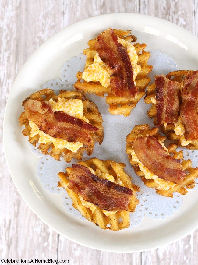 cheesy bacon potato appetizers
