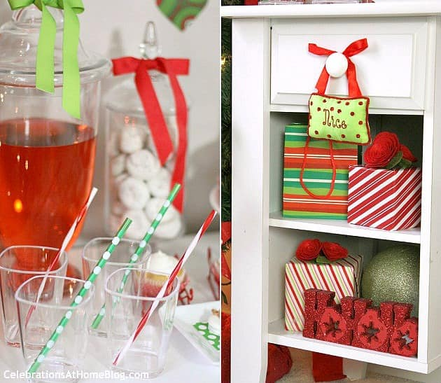 Christmas Family Party Ideas Part - 25: These Family Friendly Christmas Party Ideas Are Full Of Whimsical Touches  Done In Classic Red And ...