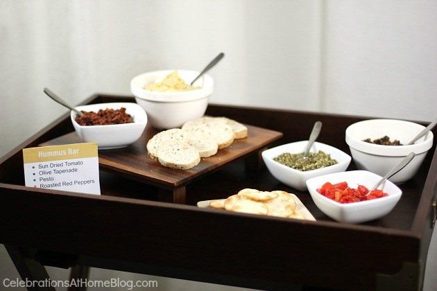 Set up a hummus bar for easy entertaining + my classic hummus recipe