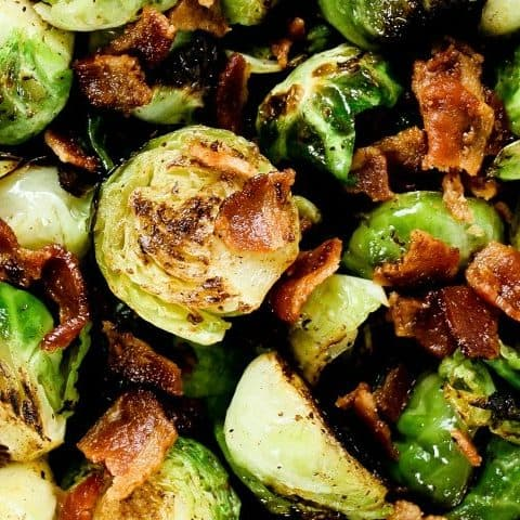 sauteed brussels sprouts with bacon recipe