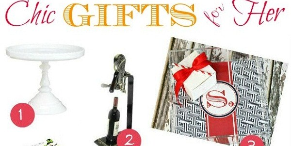 Chic Gifts For The Entertainer