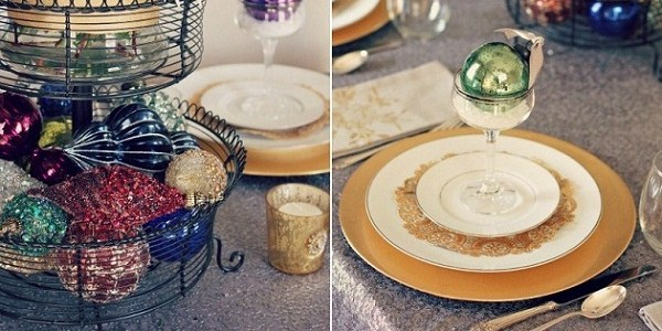 Christmas Tablescape – Decorating With Ornaments