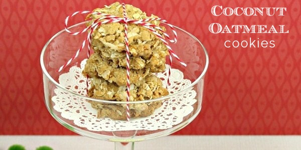 Coconut Oatmeal Cookies recipe