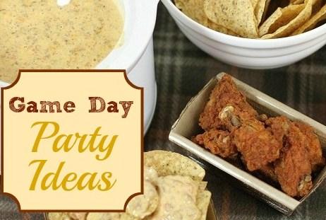 Game Day Party Ideas + Cheesy Chorizo Dip Recipe