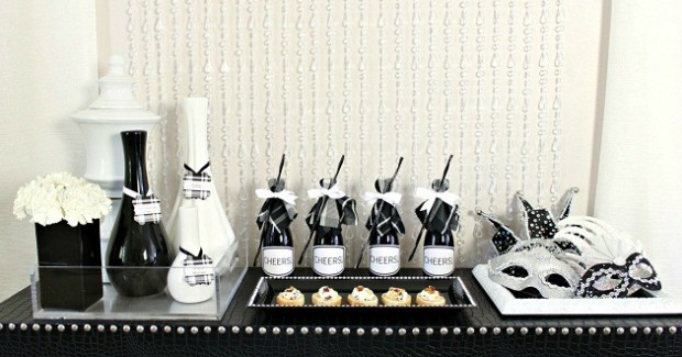 Entertaining : Black & White Dinner Party Ideas