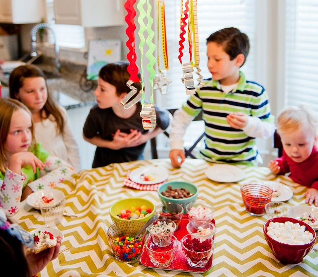 kids cookie decorating party