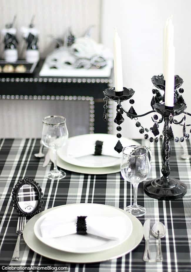 Black Amp White Dinner Party Ideas Celebrations At Home