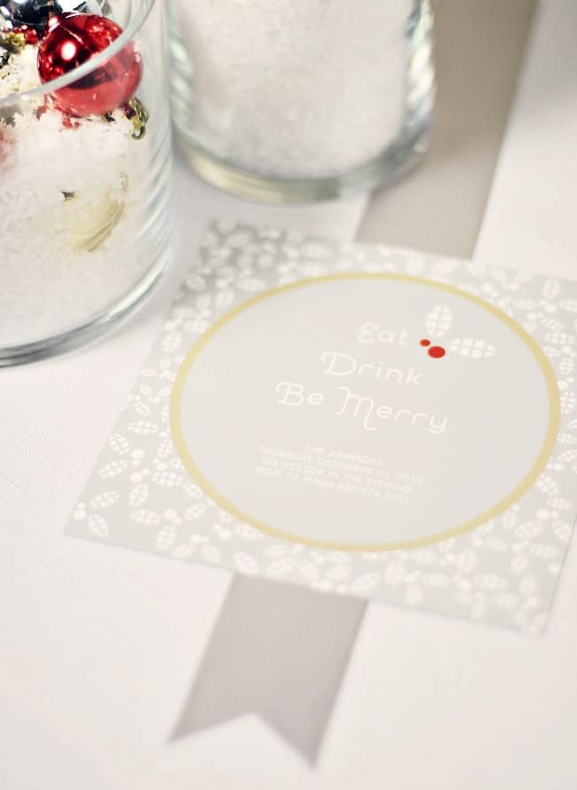 Christmas Cocktail Party Ideas, invitations