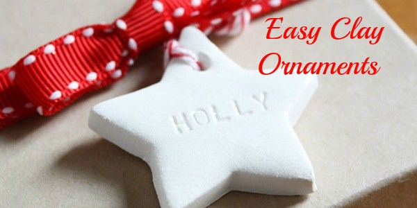 Easy Clay Ornaments {guest blogger}