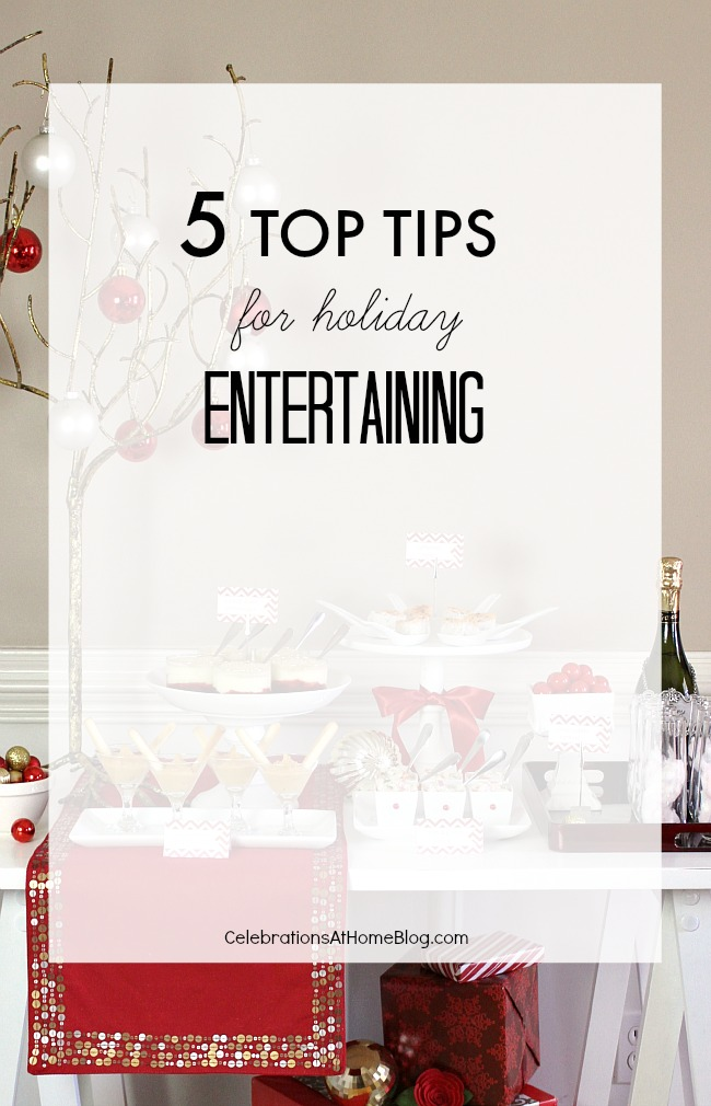 5 top tips for holiday entertaining article