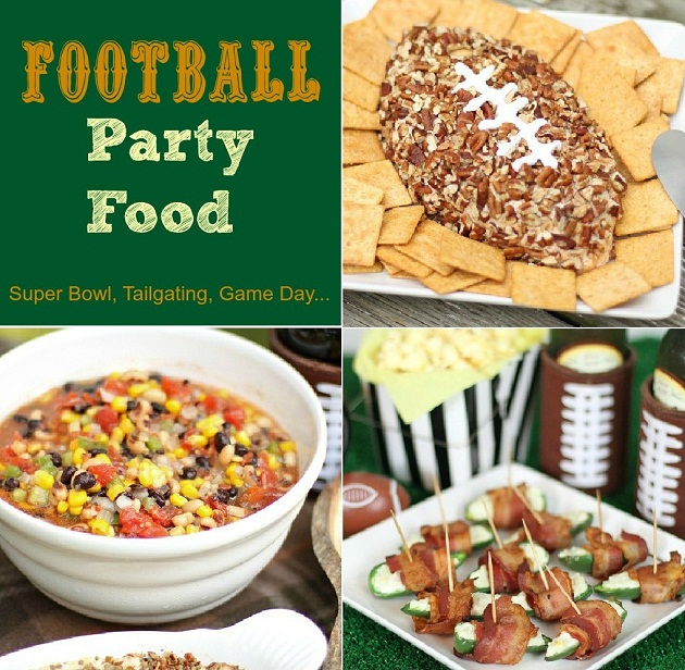 football food-3 recipes for game day