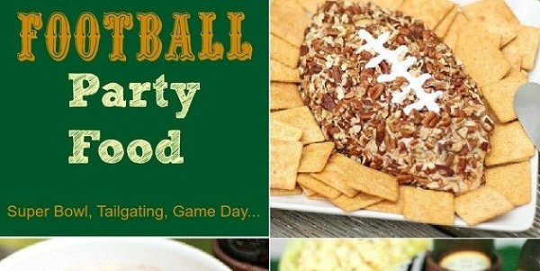 Football Party Food :: 3 Recipes For Game Day