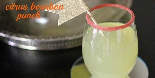 Citrus Bourbon Punch Recipe