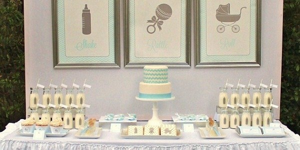 shake, rattle, & roll baby shower