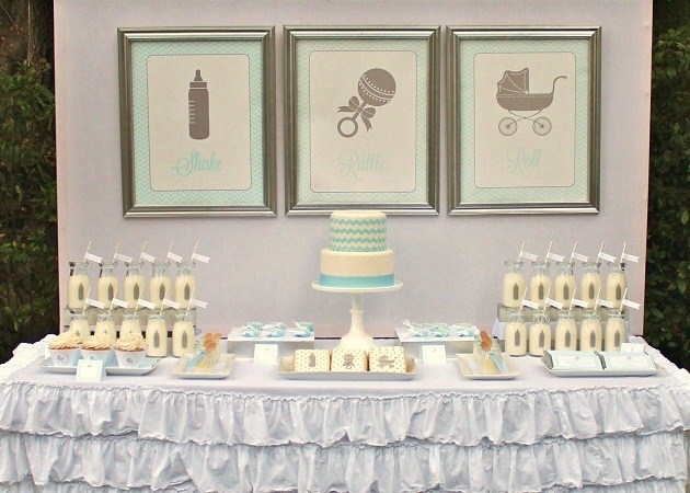shake, rattle, and roll baby shower