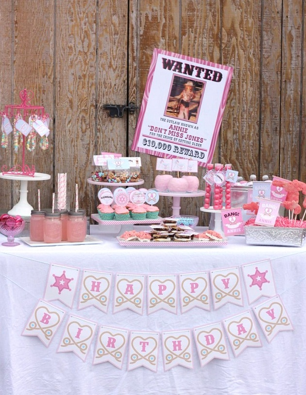 Pink Cowgirl Birthday Party Guest Feature Celebrations