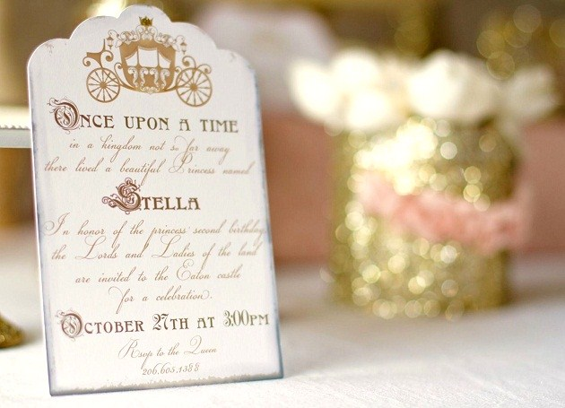 Once Upon A Time Fairytale Birthday Celebrations