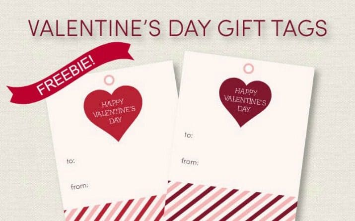 FREE Valentines Day Gift Tags