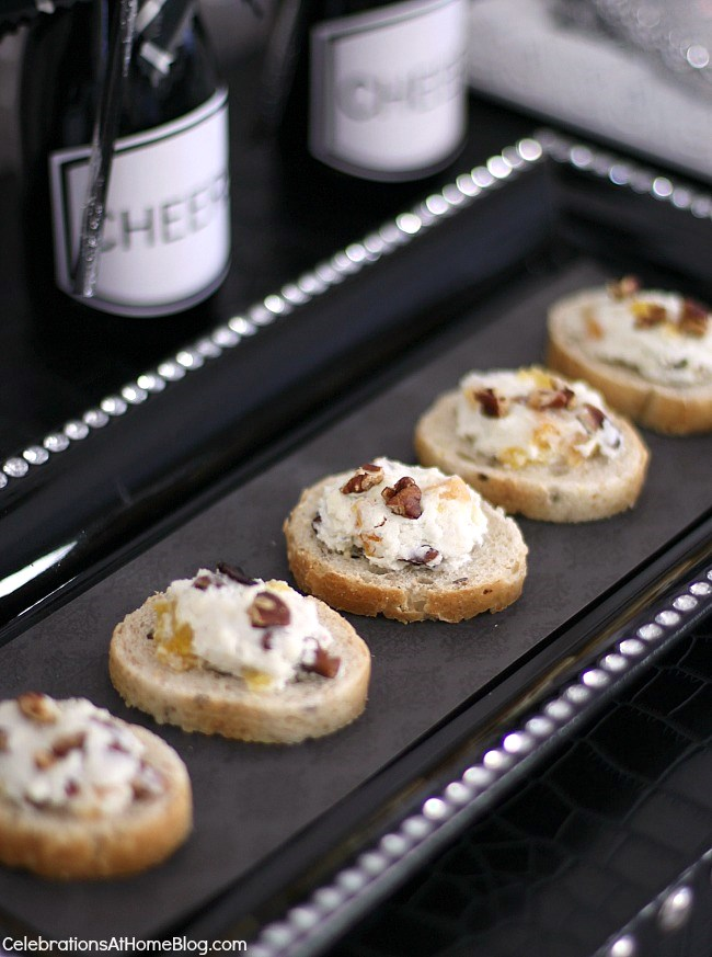 sweet and savory cheese appetizers
