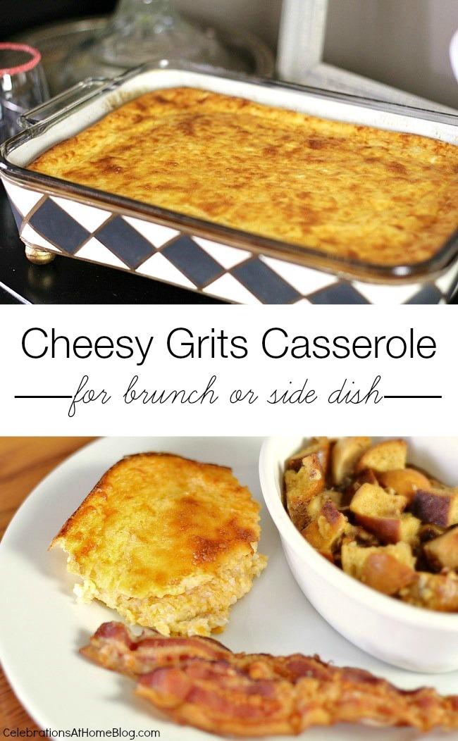 cheesy grits casserole bake