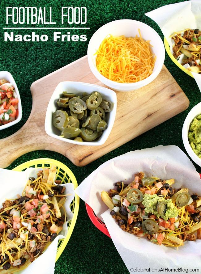 football food nacho fries