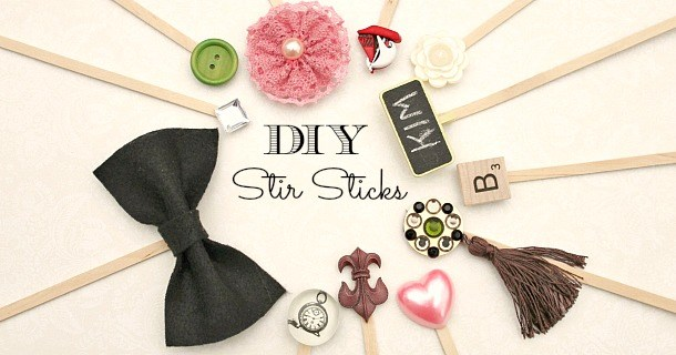 Make Your Own Drink Stir Sticks