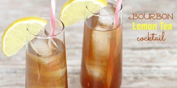 Bourbon Lemon Iced Tea