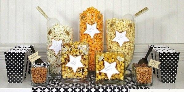 Setting Up A Popcorn Bar