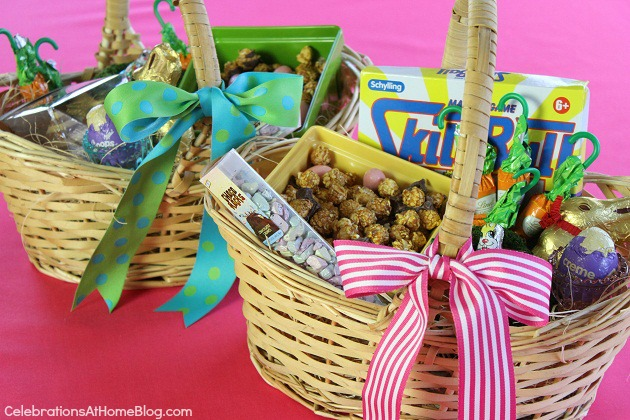 Ideas For Easter Baskets Celebrations At Home
