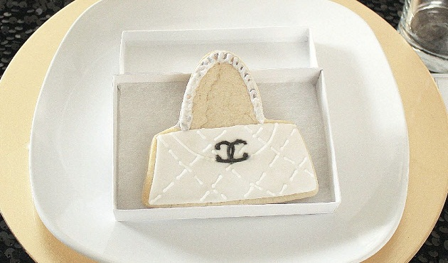 chanel themed cookies