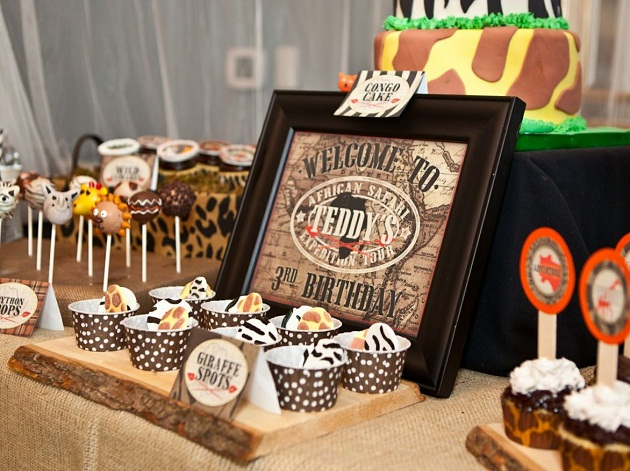 Wild Safari Birthday Party Guest Feature Celebrations
