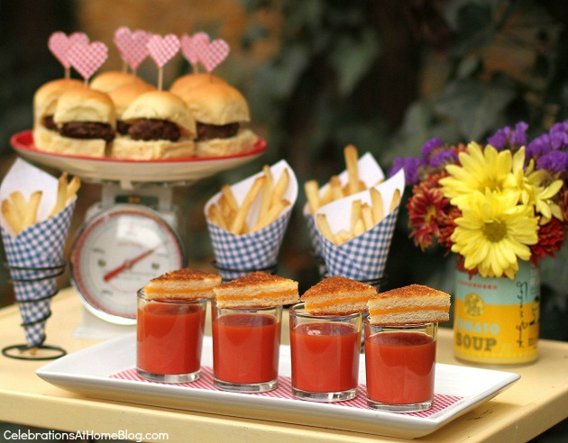 recipe for love bridal shower food