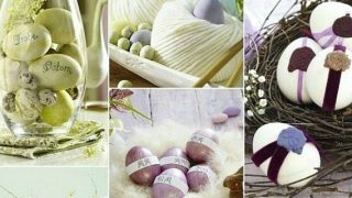 Decorated Easter Eggs - 7 Creative Ideas