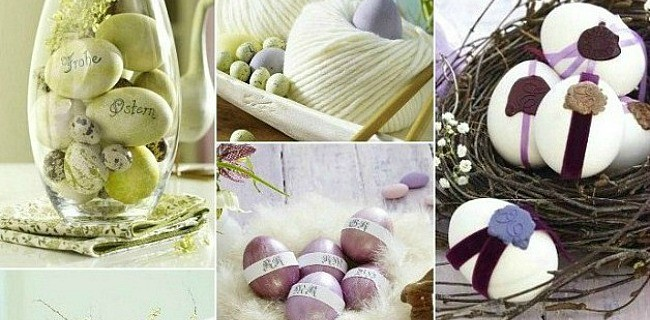 Decorated Easter Eggs – 7 Creative Ideas