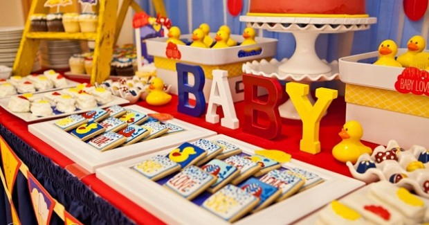 baby love baby shower by Operation Shower