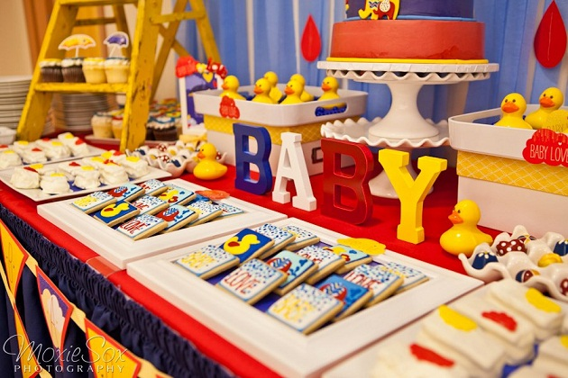 Baby Love Baby Shower  {Operation Shower}
