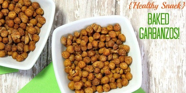 Healthy Snack – Baked Crispy Garbanzo Beans