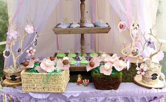 Fairy Themed 1st Birthday Guest Feature Celebrations