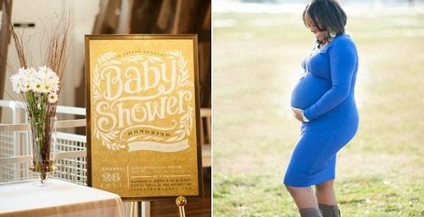 Sleek & Minimalist Baby Shower {Guest Feature}