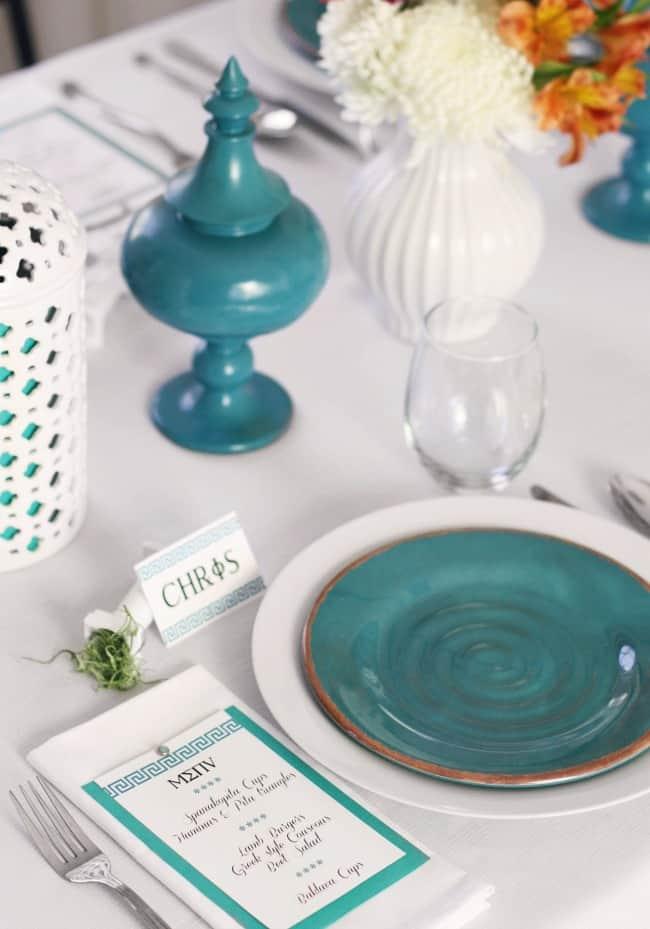 Greek menu ideas for dinner party