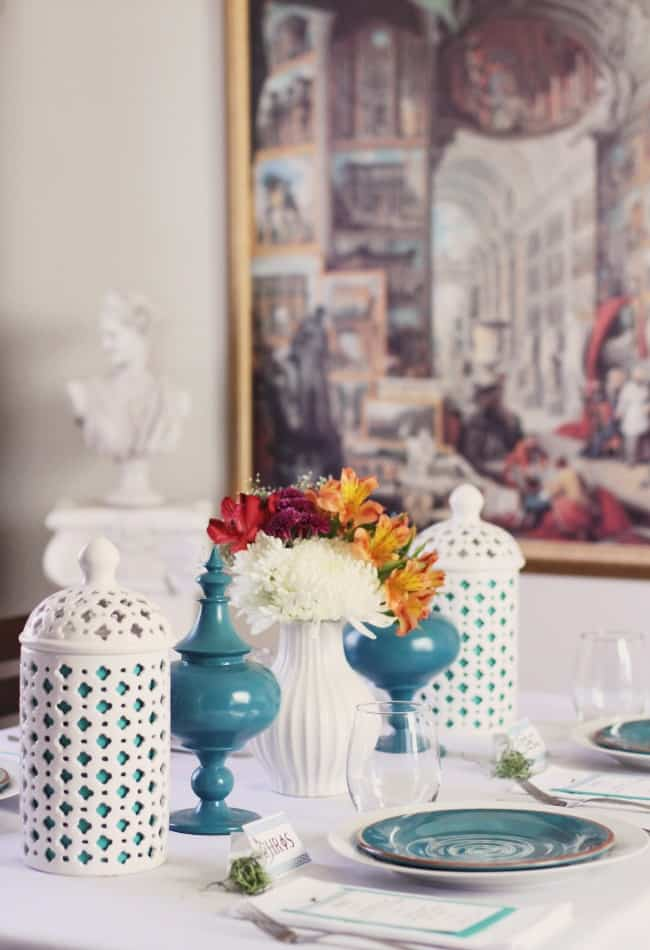 Greek Themed Dinner Party