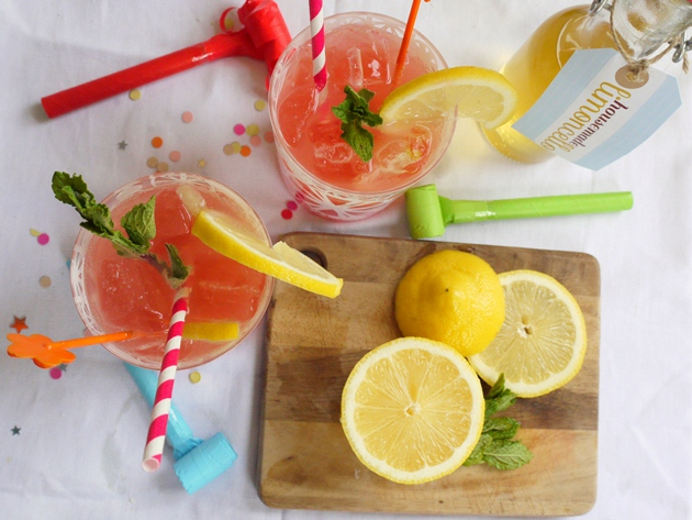 limoncello grapefruit punch