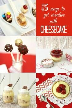 5 ways to use prepared cheesecake