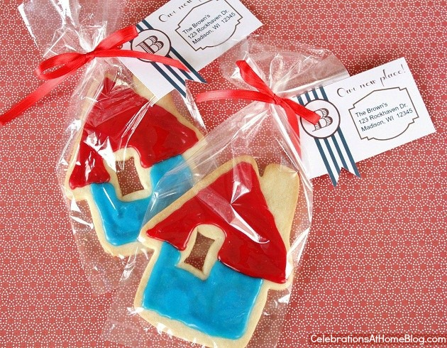 housewarming favor and tag