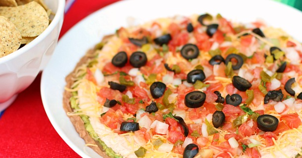 Favorite Mexican Layer Dip Recipe