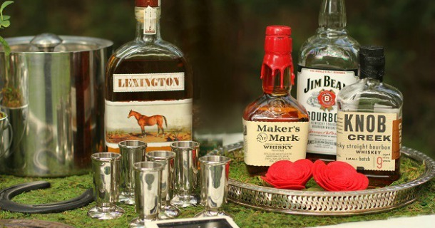Entertaining : Set Up A Bourbon Tasting Bar