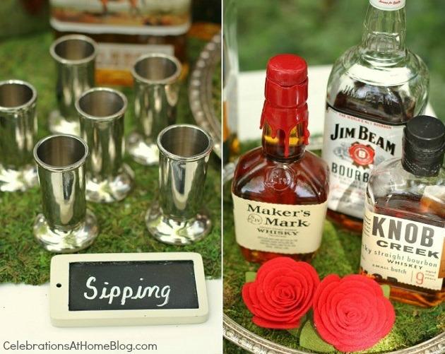 bourbon tasting bar