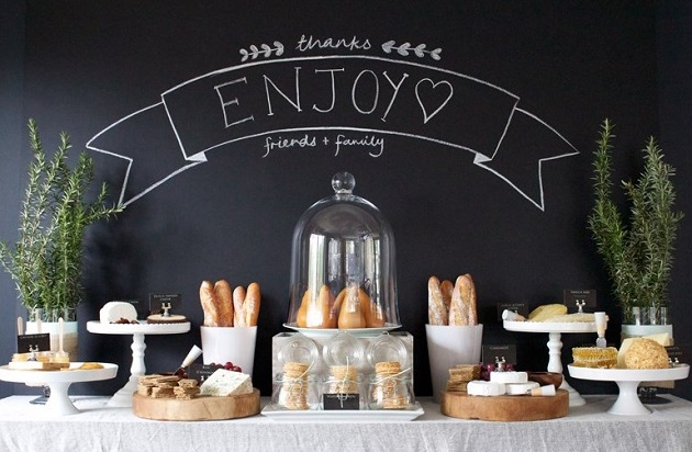 cheese table display