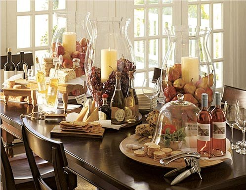 12 Amazing Cheese Table Displays Celebrations At Home