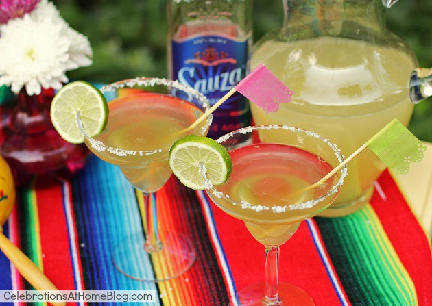 Sauza-rita recipe for cinco de mayo